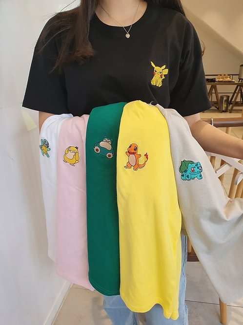 POKEMON Tシャツ 全6色