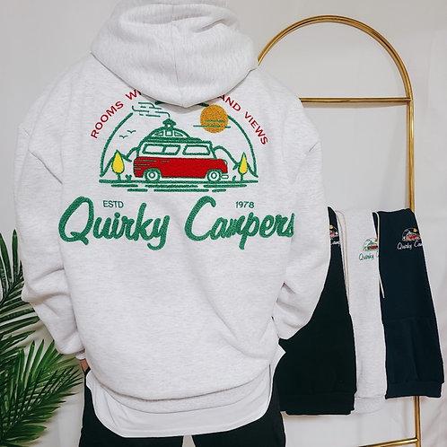 QUIRKY CAMPER パーカー 全4色