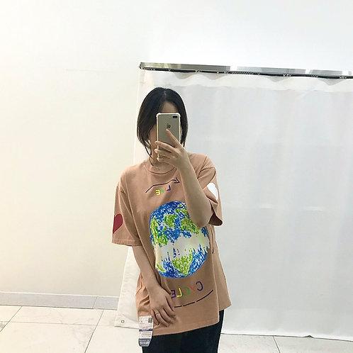 EARTH CYCLE Tシャツ 全3色