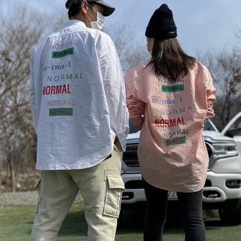 NORMAL WASHING シャツ 全3色