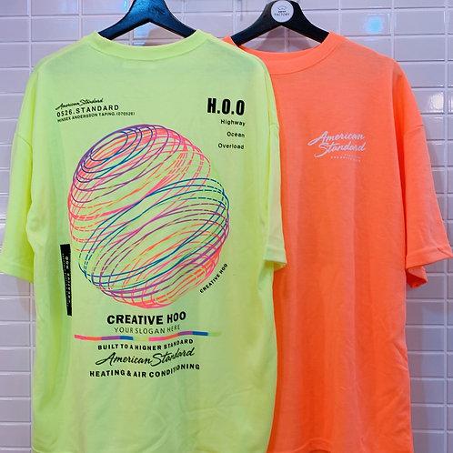 ネオンサークル Tシャツ  全6色