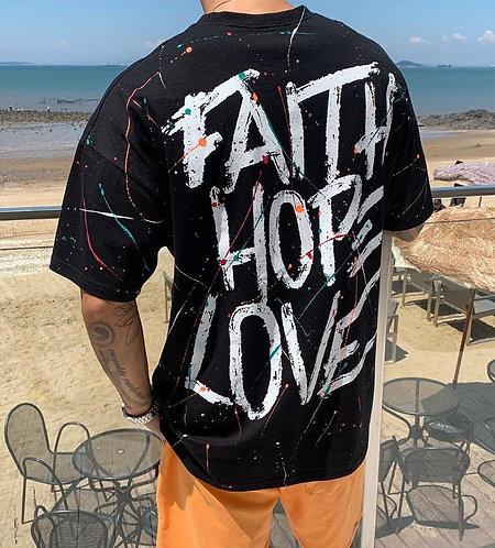FAITH HOPE LOVE Tシャツ 全4色