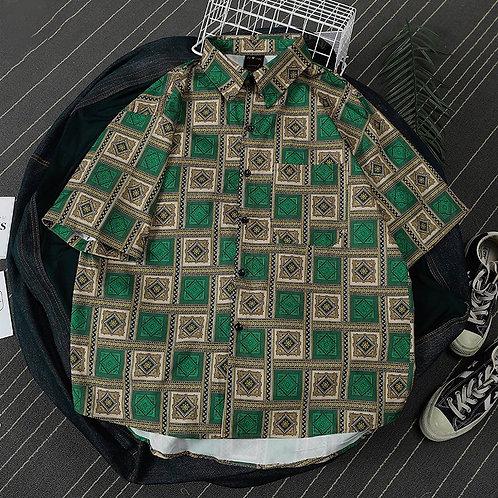 GREEN TILE シャツ 全1色