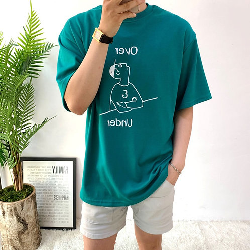 Over&Under Tシャツ 全6色