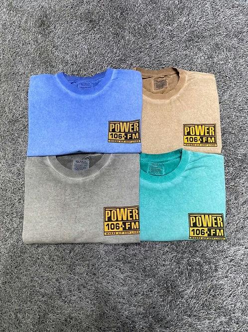 パワーFM Tシャツ  全4色