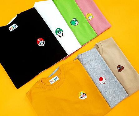 マリオ ワンポイント Tシャツ 全7色
