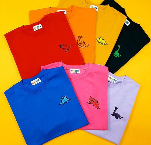 大人気ザウルス ポイント Tシャツ 全7色