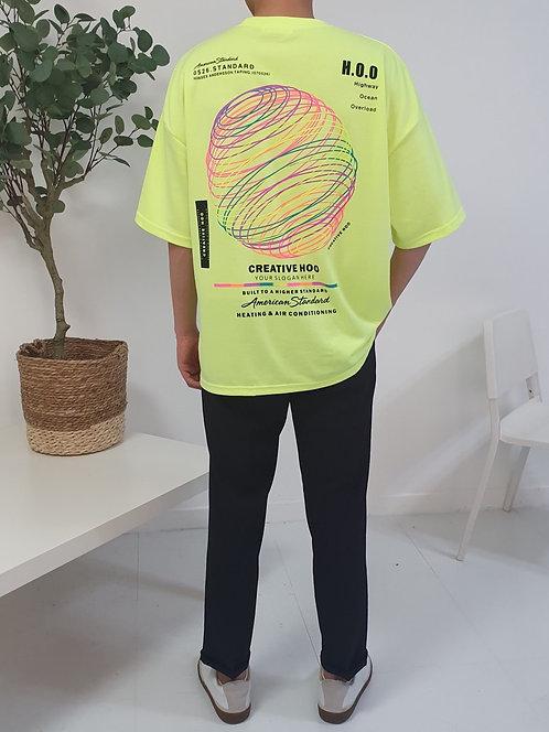 ネオンサークル Tシャツ  全7色