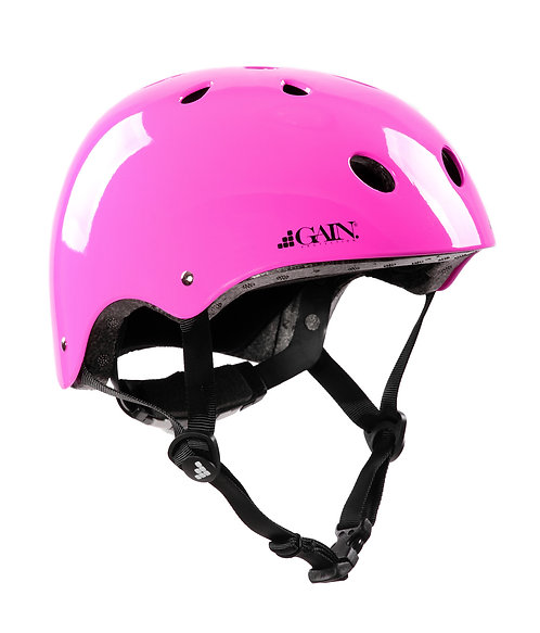 "GAIN ""The Sleeper"" Helmet -  Adjustable - XS/S/M - Hot Pink"