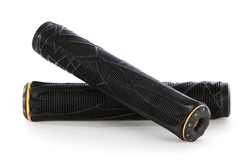 Ethic Rubber Grips - Black