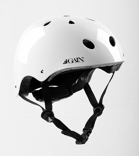 "GAIN ""The Sleeper"" Helmet -  Adjustable - XS/S/M - Gloss White"