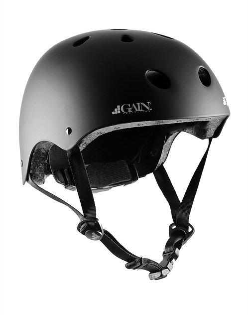 "GAIN ""The Sleeper"" Helmets - Adjustable XS/S/M - Matte Black"