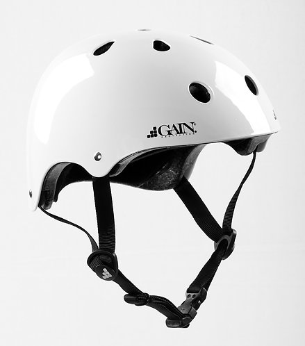 "GAIN ""The Sleeper"" Helmets -  L/XL Gloss White"
