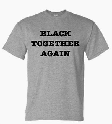 Black Together Again Tee