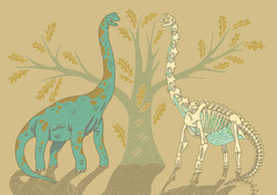 Bracheosaurus Print