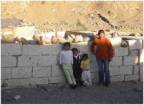 Kinder in Arequipa Elendsviertel Cayma