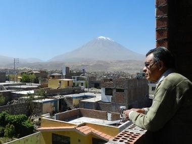 Urbano Gallegos Blick über Arequipa