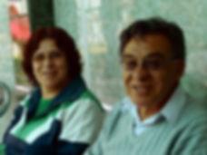 Urbano und Miriam Gallegos