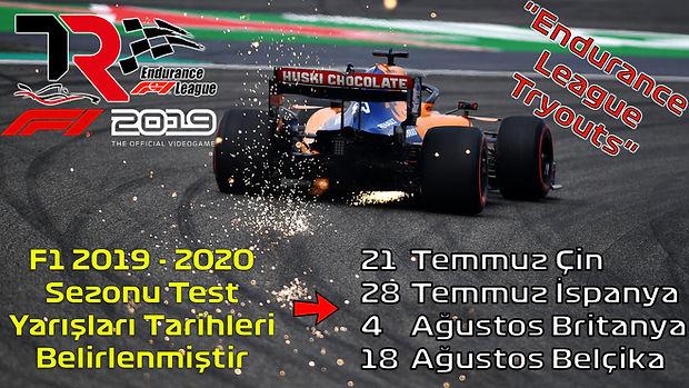 TR Endurance League Yeni Pilot Testleri