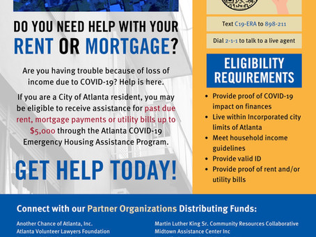 Do you need help with rent or mortgage?