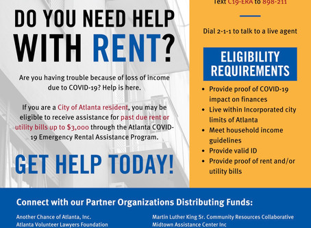 Do you need help with rent?