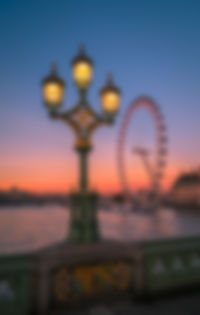 London Eye and Westminster bridge at sunset - Philip Preston