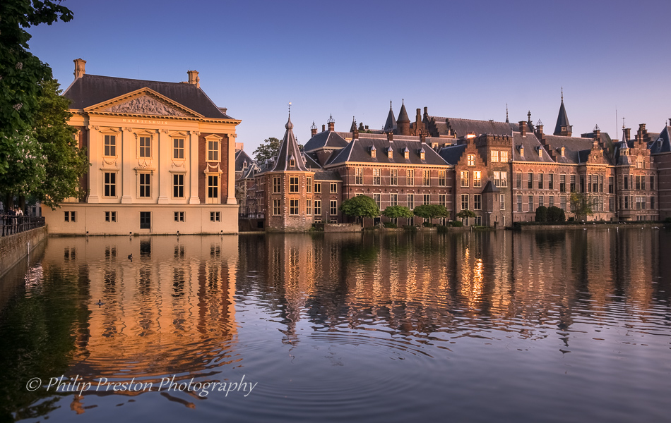 Mauritshuis and Binnenhof, The Hague