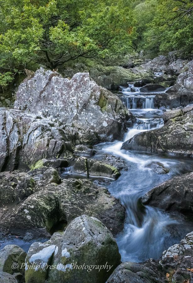 Rhaeadr Ddu Falls, Snowdonia