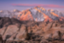 Sunrise, Mount Whitney, Alabama Hills, California, USA