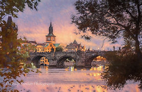 A gallery of Prague photoart by Philip Preston photography