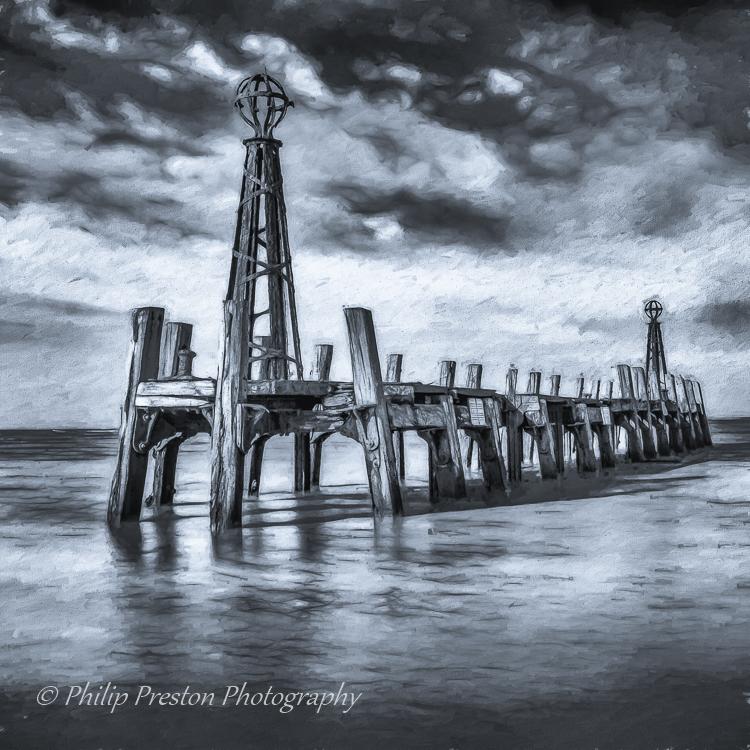St Anne's Derelict Pier