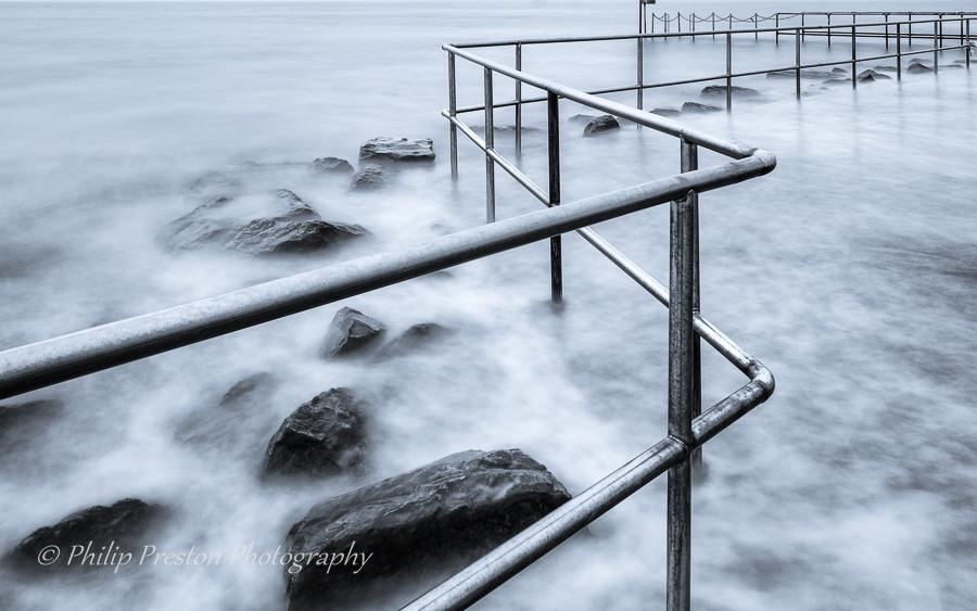 Long exposure seascape photography, Fylde coast, UK. Philip Preston photography