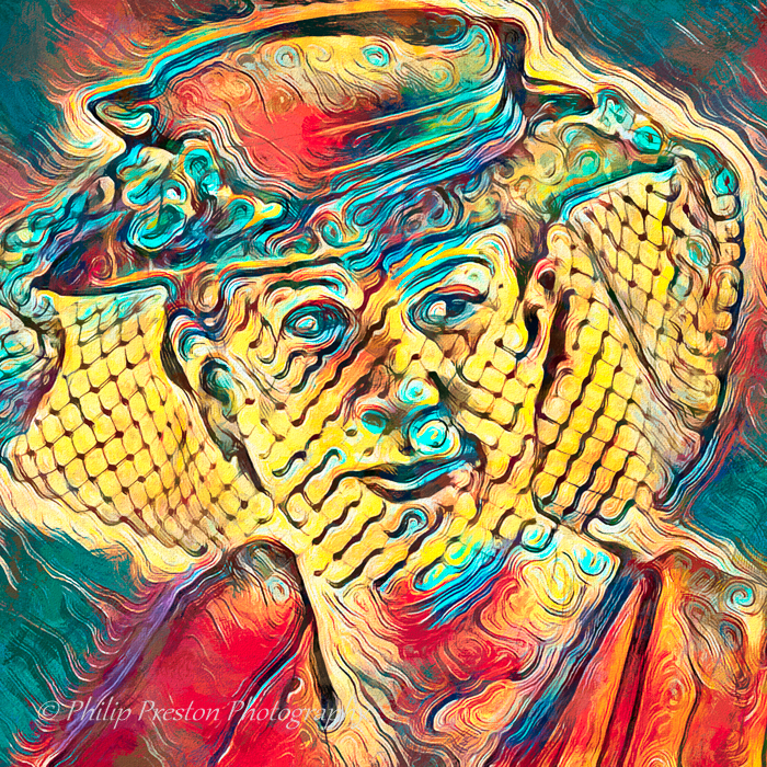 Woman With Hat Portrait