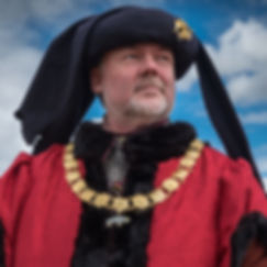 Bosworth Battlefield, Leicestershire, UK historic re-enactment event participant.