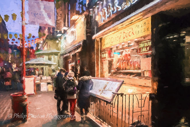 Photograph with impressionistic paint effects - Philip Preston phoography