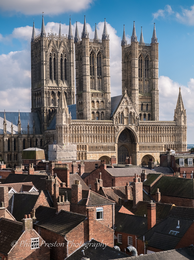 Lincoln Cathedral, Lincolnshire, UK
