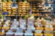 Markthal, Rotterdam food market interior cheese stall - Philip Preston phoography