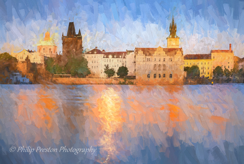 Old Town and Vltava River