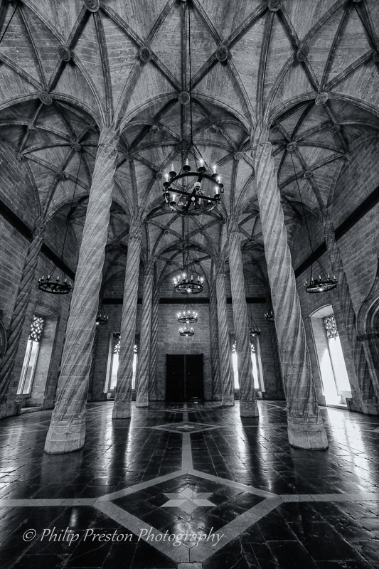 Hall of Columns, Seville, Spain