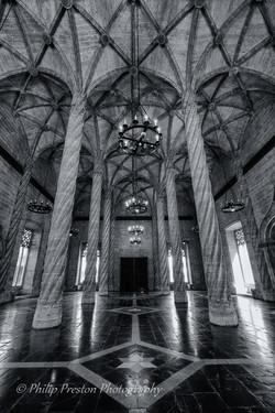 Hall of Columns, Seville, Spain