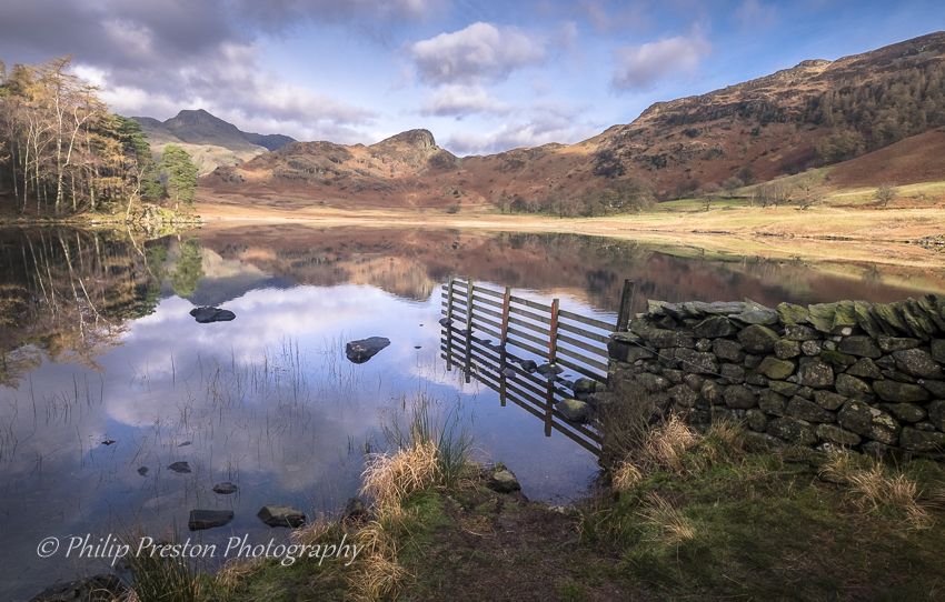 Blea Tarn, Cumbria, Lake District