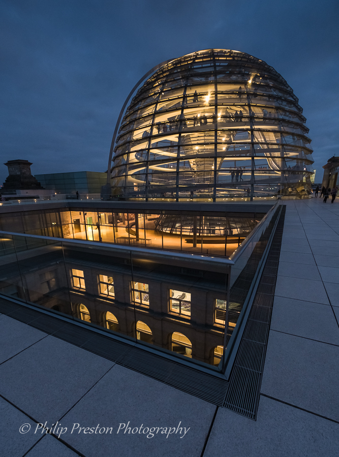 Reichstag Roof Terrace, Berlin
