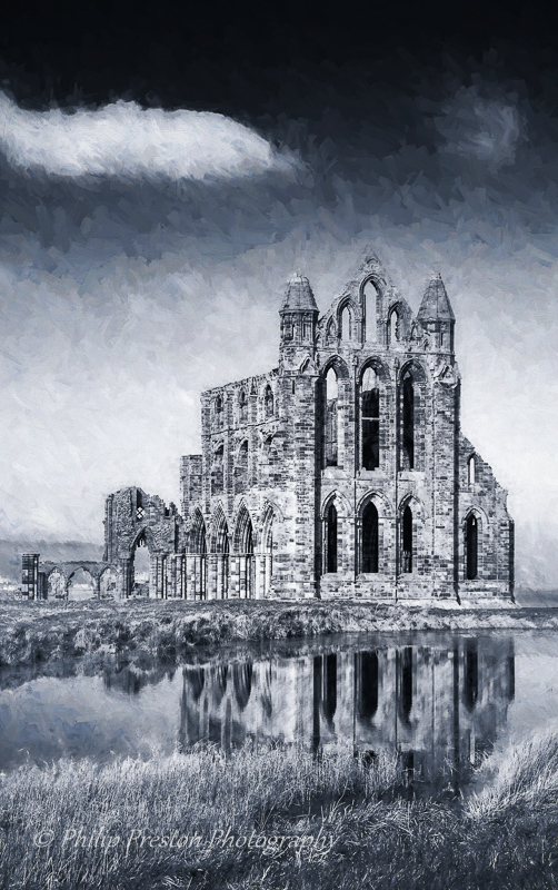 Whitby Abbey Ruins