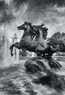 Four Seasons Fountain, Moscow