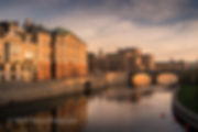 Stockholm cityscape sunrise - Philip Preston photography
