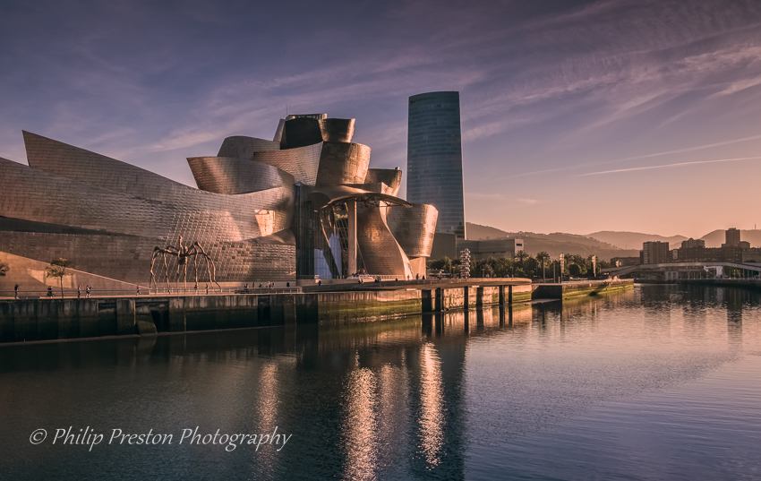 Bilbao Sunset