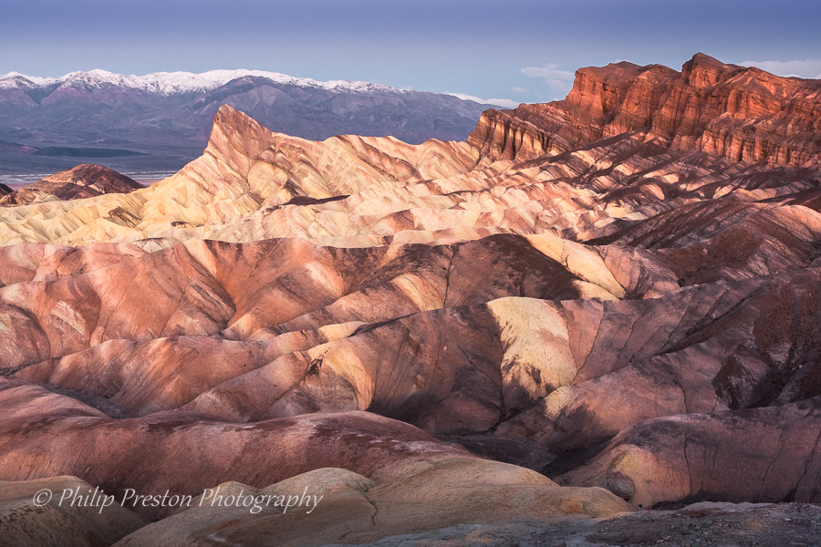 Manly Beacon, Zabriskie Point, California