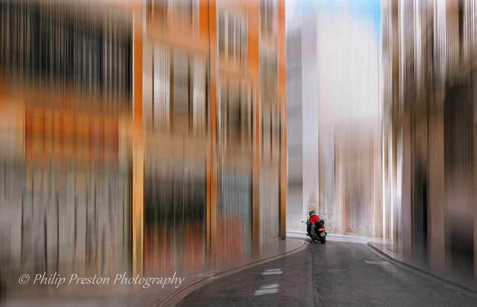 A photograph with added motion blur to produce a photoart style of image - Philip Preston photoart photography