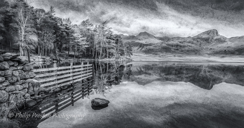 Blea Tarn, Lake District National Park, Cumbria, UK - Philip Preston photoart photography
