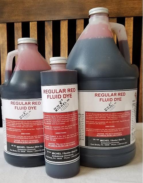 Arterial Fluid Dye - Regular Red